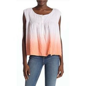 NEW Free People Little Bit of Something ombre top